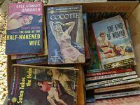 HUGE LOT PB 1950S VTG BOOK ROMANCE PULP FICTION WESTERN KIDS DETECTIVE RARE