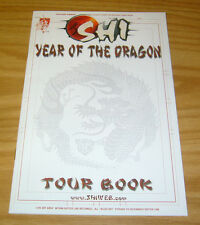 Shi: Year of the Dragon Tour Book #1 VF/NM crusade comics - bill tucci bad girl