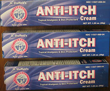 6-Anti-Itch Cream Histamine Blocking Relief of Poison Ivy Oak Sumac Insect Bites