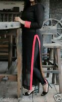 Punjabi Pajami suit Bollywood Designer Indian SALWAR KAMEEZ readymade dress size