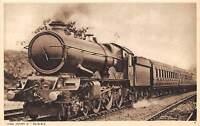 King Henry V GWR Railway British Railroad UK postcard