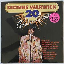 [SEALED] FUNK SOUL Dionne Warwick - 20 Golden Greats LP vinyl record UK IMPORT