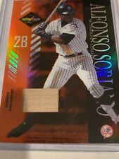 New listing 2003 Leaf Limited Yankees Alfonso Soriano Game Used 59/100