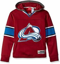 Reebok NHL Youth Colorado Avalanche Faceoff Jersey Hoodie