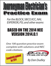 Journeyman Electrician Practice Exam Based on 2014 NEC