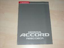 44704) Honda Accord Aerodeck Prospekt 199?