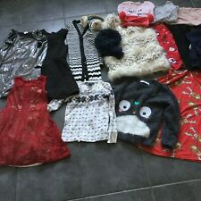 Bundle girls clothes age 5/6 Ralph Lauren Next River Island coat dress T shirt