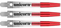 Unicorn Darts Gripper Zero Degrees Short Stem Shaft With Aluminum Top Red *SALE*