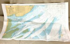 1990 Vintage Maritime Map East Coast River Thames Estuary Admiralty Chart