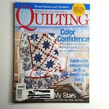 American Patchwork & Quilting Magazine Better Homes & Garden June 2005 Issue 74