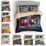 Super Mario Pokemon Sonic Splatoon Zelda Quilt Cover Kids Bedding Set Pillowcase