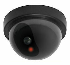 1 Realistic Dummy Security CCTV Fake Camera LED Light Indication