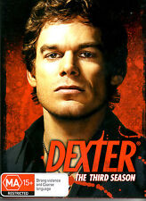 DEXTER - The Third Season (Season 3 / Series Three) 4 Disc Set!!!