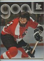 1974 Vintage NHL Hockey Program Philadelphia Flyers Buffalo Sabres GOAL