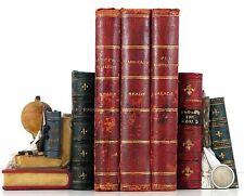 HARD CASH--PEG WOFFINGTON--GRIFFITH GAUNT CHARLES READE 3 VOLS LEATHER DISPLAY