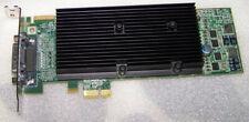 Matrox M9120 Plus LP 512MB PCI-E x1 Low Profile Quad VGA Monitors Graphics Card