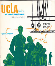 1960 1961 DECEMBER JANUARY UCLA BRUINS ALUMNI MAGAZINE HOUSEMAN FOCH BASKETBALL