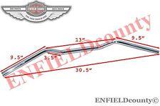 "CHROMED 7/8"" HANDLEBAR UNIT CAFE RACER UNIVERSAL BSA M20 B3 MOTORCYCLE SPARES2U"