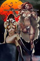 Vampirella Red Sonja #10 Paralel Evren Istanbul Exclusive Virgin Variant CELOR