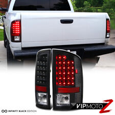 2007-2008 DODGE RAM 1500 | 2007-2009 DODGE RAM 2500 | 3500 BLACK LED TAIL LAMPS