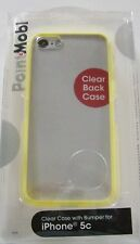 PointMobl Iphone 5c Cell Phone Clear Case W. Bumper Yellow  (IL/SP5-9089-1703...