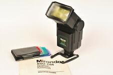 Miranda 650 Olympus OM Dedicated Tilt / Bounce / Zoom Flash for OM2, OM 10 etc