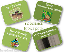 KS1 Year 2 Science BULK TOPIC PACK - Primary teaching resources on CD