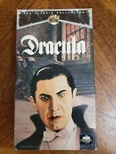 Dracula (VHS, 1931,1991) Rare, Silent Film.