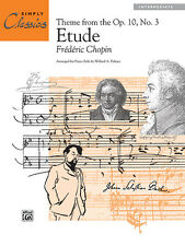 Etude Op.10 No.3 (simply classics); Chopin, F arr. Palmer, W.A, ALFRED - 14303