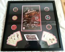 More details for autographed fallout: new vegas signed display by obsidian development team