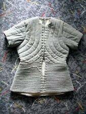 Medieval Costume Gambeson Reenactment Roman Gray Color Good Look