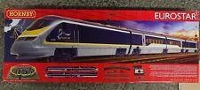"""HORNBY R1176 """"EUROSTAR"""" Electric train Set DCC Ready"""
