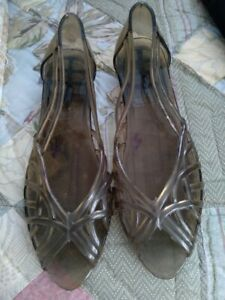 vintage jelly shoes size 7