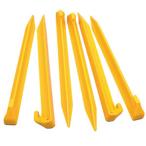 OZTRAIL Heavy Duty Sand Pegs 22.5cm Pack of 6