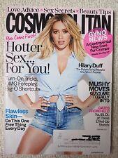 Cosmopolitan Magazine February 2017 Hilary Duff Love Advice Sex Secrets Beauty