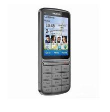 Nokia  C3-01 - Warm gray (Unlocked) WIFI Cellular Phone Free Shipping