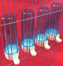 Comederos Para Aves X4 Agua Dispensador De Agua De Semillas Clipper fuente Budgie Canarias Anti Algas 100m