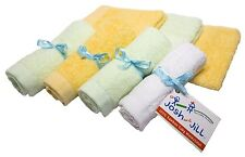 *NEW* Super Soft Bamboo Baby Washcloth Set of 6 +1 For Mommy - Baby Shower Gift!