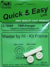 CMK 1/72 Grumman TBM Avenger RUOTE # Q72045