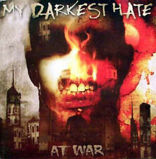 MY DARKEST HATE - At War CD+DVD (Massacre, 2004) *German Death Metal *sealed