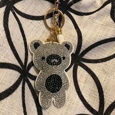 Women's Handbag Potli Bag Cord Handle Rhinestone Bear Charm