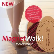 Energetix Magnetic MAGNETWALK Leather HALF Insoles New 4 sizes available.