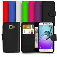 For Samsung Galaxy A5 2017 (A520F) PU Leather Wallet Case Cover Screen Protector