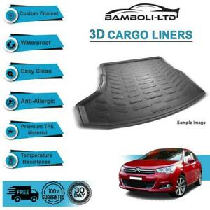 3D CARGO LINER BOOT LINER REAR TRUNK MAT FOR CITROEN C4 2011-UP