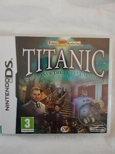 Hidden Mysteries TITANIC Secrets Of The Fateful Voyage, Nintendo DS & 3DS PAL UK