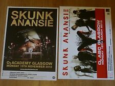Skunk Anansie - Scottish tour Glasgow concert gig posters x 2