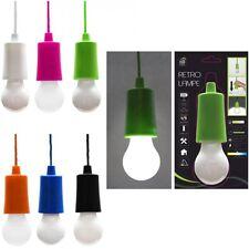 LED Retro Lampe, Batteriebetrieb, verschiedene Farben