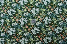 William Morris Golden Lily Green 100% Cotton Quilt Craft Sewing OOP Fabric BTHY