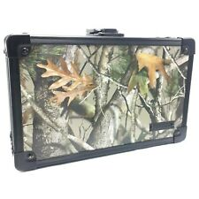 Vaultz Next Camo Real Tree Hunting Supply Pencil Case Locking Box with Keys New
