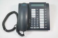 Siemens Optipoint 500 basic Systemtelefon anthrazit mangan Displayfehler